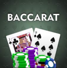 The online casino game Baccarat