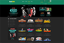 bet365 casino homepage