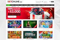 BetOnline.ag Casino Welcomes You With a Bonus