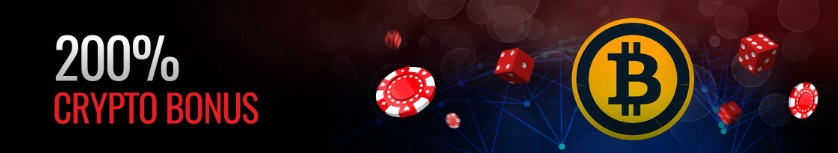 There is a crypto bonus at Casino Extreme.