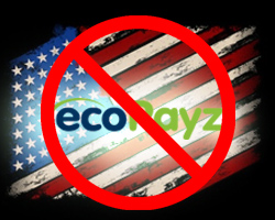 EcoPayz Payment Method is not accepted in the US
