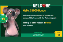 Fair GO Casino's Awesome Welcome Bonus