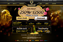 Golden Lion Casino Home Page