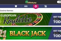 mFortune Casino has many different Table Casino Games