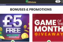Awesome bonuses at mFortune Casino