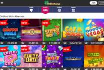 Great Variety of Slot Games at mFortune Casino