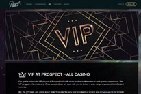 Prospect Hall Casino VIP program