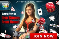 Play Live Dealer Casino Games at Sloto'Cash