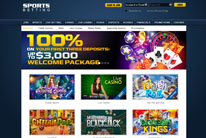 SportsBetting.ag Casino Welcome Bonus Offer