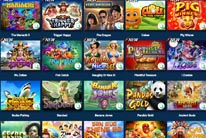 Great variety of games at Thunderbolt Casino