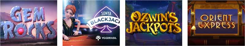 Yggdrasil's most played casino games